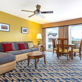 The Suites at Fisherman's Wharf Living Area