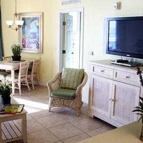The Cove on Ormond Beach - South Tower Living Area