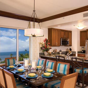 Marriott's Maui Ocean Club - Napili Villas Dining Area