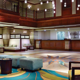 Marriott's Aruba Surf Club Lobby