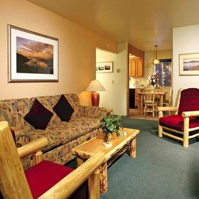 The Lodge at Lake Tahoe Living Area