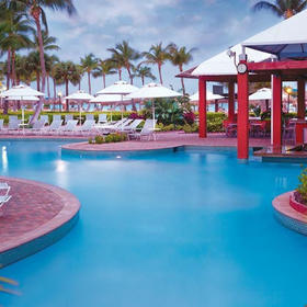 Marriott's Aruba Ocean Club Pool and Pool Bar