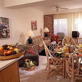 Tropicana Aruba Resort & Casino at Eagle Beach - Unit Living Area