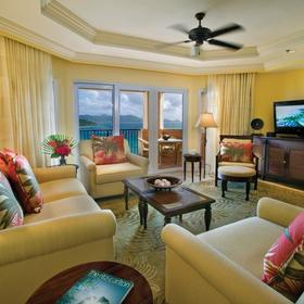 The Ritz-Carlton Club, St. Thomas Living Area