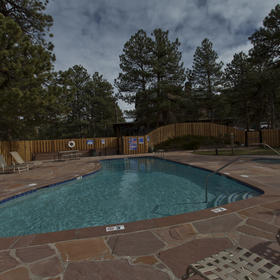 The Historic Crags Lodge Pool