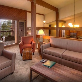 Gold Point Resort Living Area
