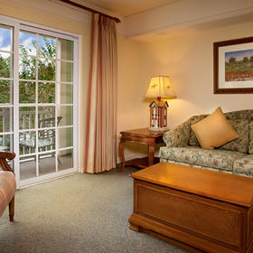 Disney's Saratoga Springs Resort & Spa Living Area