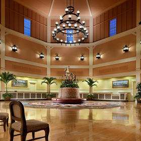 Disney's Saratoga Springs Resort & Spa Lobby