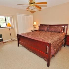 The Sea Pines Resort Bedroom