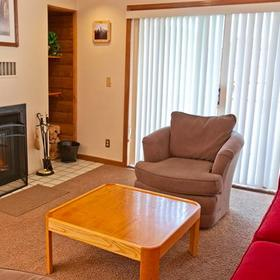 Swan Mountain Resort Living Area