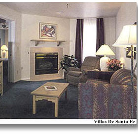 Villas de Santa Fe — - Unit Living Area