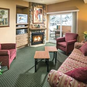 WorldMark Estes Park Living Area