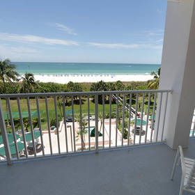 The Surf Club of Marco — Balcony
