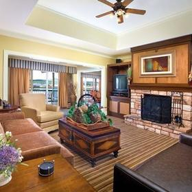 Wyndham Pagosa Living Area