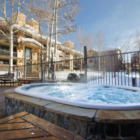 The Phoenix at Steamboat Hot Tub