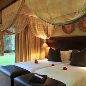 Mjejane River Lodge — Bedroom