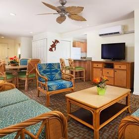 WorldMark Kona Resort Living Area