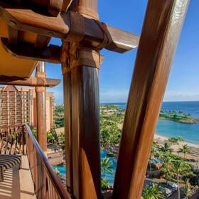 Aulani Lanai and View