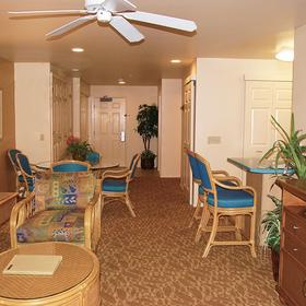 WorldMark Kihei Resort Living Area