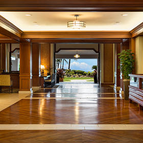 Marriott's Waiohai Beach Club Lobby