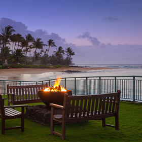 Marriott's Waiohai Beach Club Firepit