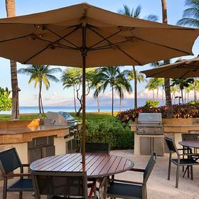 The Westin Kaanapali Ocean Resort Villas North Barbecue Area