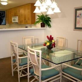 Shared Ownership at Sands of Kahana Dining Area