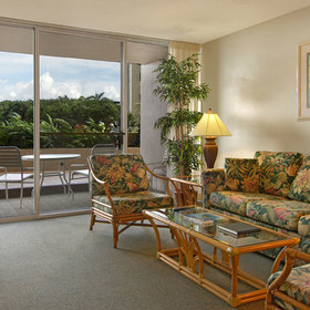 Royal Kahana Maui by Outrigger — Living Area