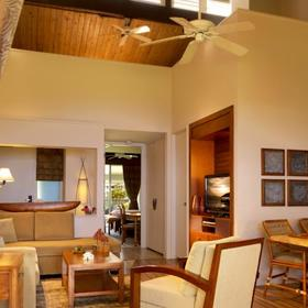 The Cliffs at Princeville Living Area