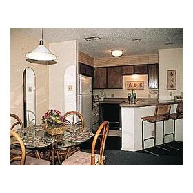 Mustang Island Beach Club - Unit Dining Area & Kitchen