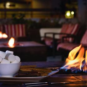 Marriott's Mountain Valley Lodge — Outdoor Fire Pit
