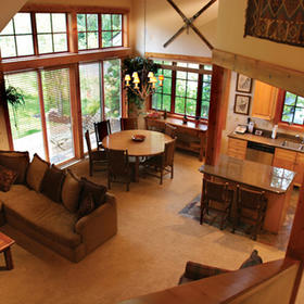 Hearthstone at Spring Mountain Ranch — Living Area
