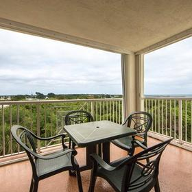 Holiday Inn Club Vacations Cape Canaveral Beach Resort Balcony