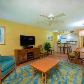 Holiday Inn Club Vacations Cape Canaveral Beach Resort Living Area