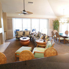 Plantation Bay Villas at South Seas Island Resort — Living Area