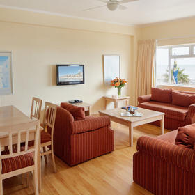 Riviera Suites — Living and Dining Area