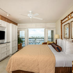 The Galleon Resort Bedroom