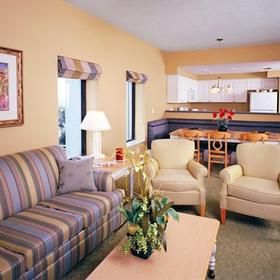 Wyndham Bay Club II Living Area