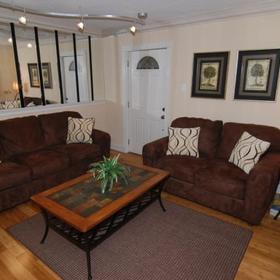 Frenchmen Orleans at 519 — Living Area