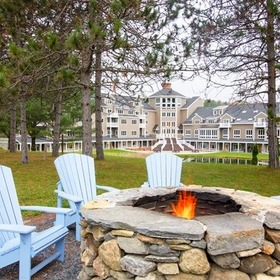 Holiday Inn Club Vacations at Ascutney Mountain Resort Firepit