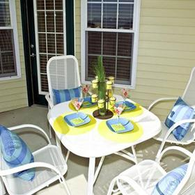 Holiday Inn Club Vacations Galveston Seaside Resort Patio