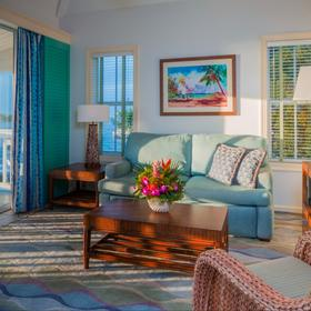 Hyatt Sunset Harbor Resort — Living Area