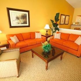 Holiday Inn Club Vacations at Orange Lake Resort - West Village Living Area