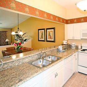 Holiday Inn Club Vacations at Orange Lake Resort - West Village Kitchen