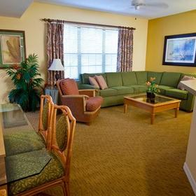 Holiday Inn Club Vacations at Orange Lake Resort - North Village Living Area