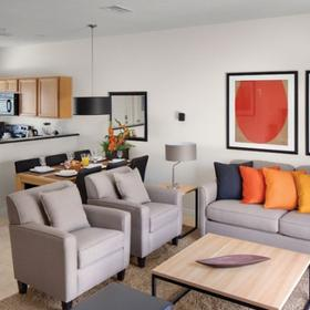 Encantada Resort Living Area