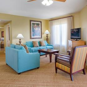 Wyndham Bonnet Creek Resort Living Area