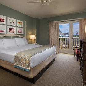 Disney's BoardWalk Villas Bedroom
