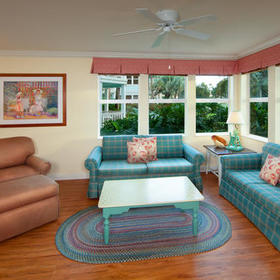 Disney's Old Key West Resort Living Area