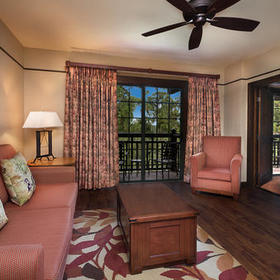 Boulder Ridge Villas at Disney's Wilderness Lodge Living Area